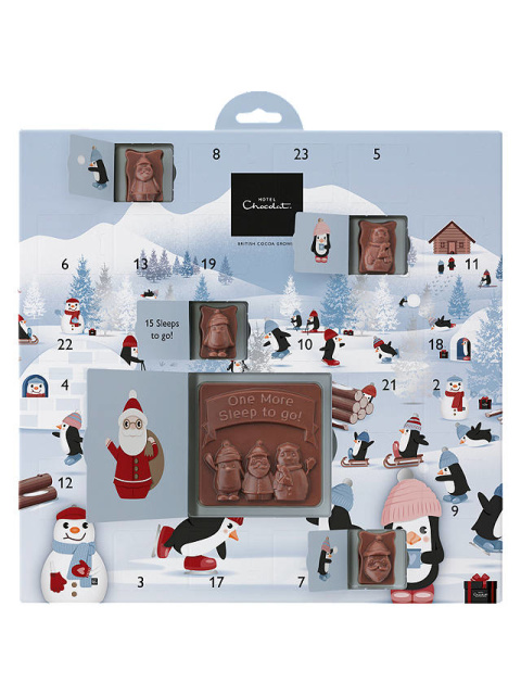 CHRISTMAS ADVENT CALENDARS - Hotel Chocolat Up to Snow Good Advent Calendar £8.00!