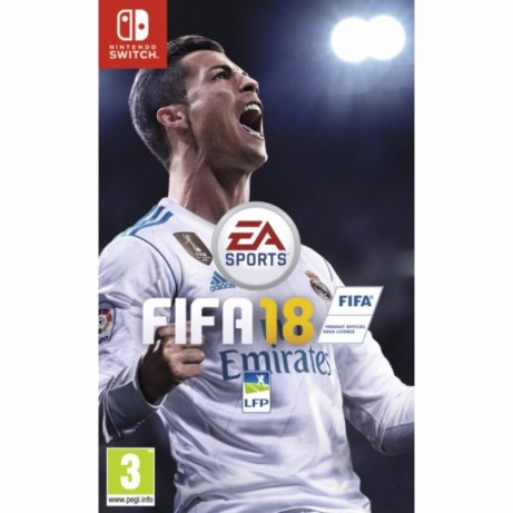 Save £25 on FIFA 18 on Nintendo Switch