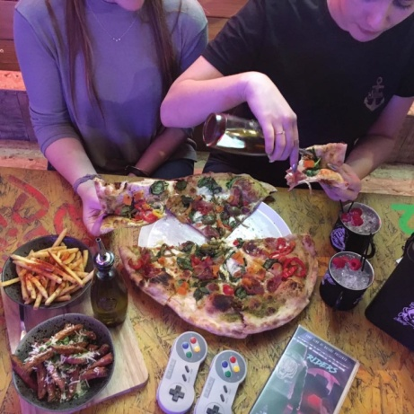 BOOK NOW - £15.00 for unlimited pizza, with desert and £5.00 cocktails!