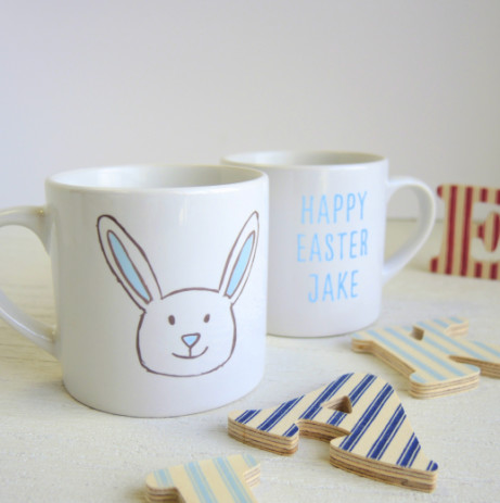 PERSONALIZED CHILDREN'S BUNNY MUGS £7.99!