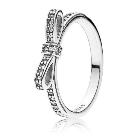 Save £12 on this adorable Silver Delicate Bow Ring