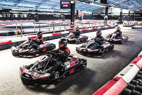 1/2 PRICE - Indoor Karting Race for Two!!