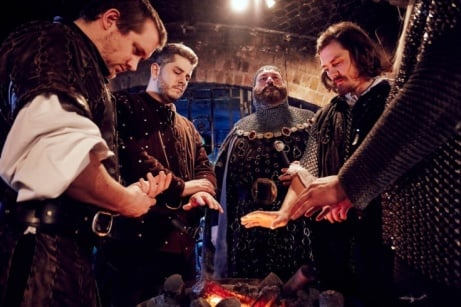 SAVE 25% on this Medieval Banquet and Show for Two!