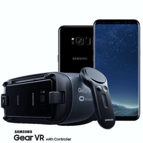 SAVE £70.00 - Official Samsung Galaxy Gear VR Headset with Motion Controller!
