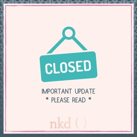 We are incredibly sad to announce that nkd has taken the decision to temporarily close