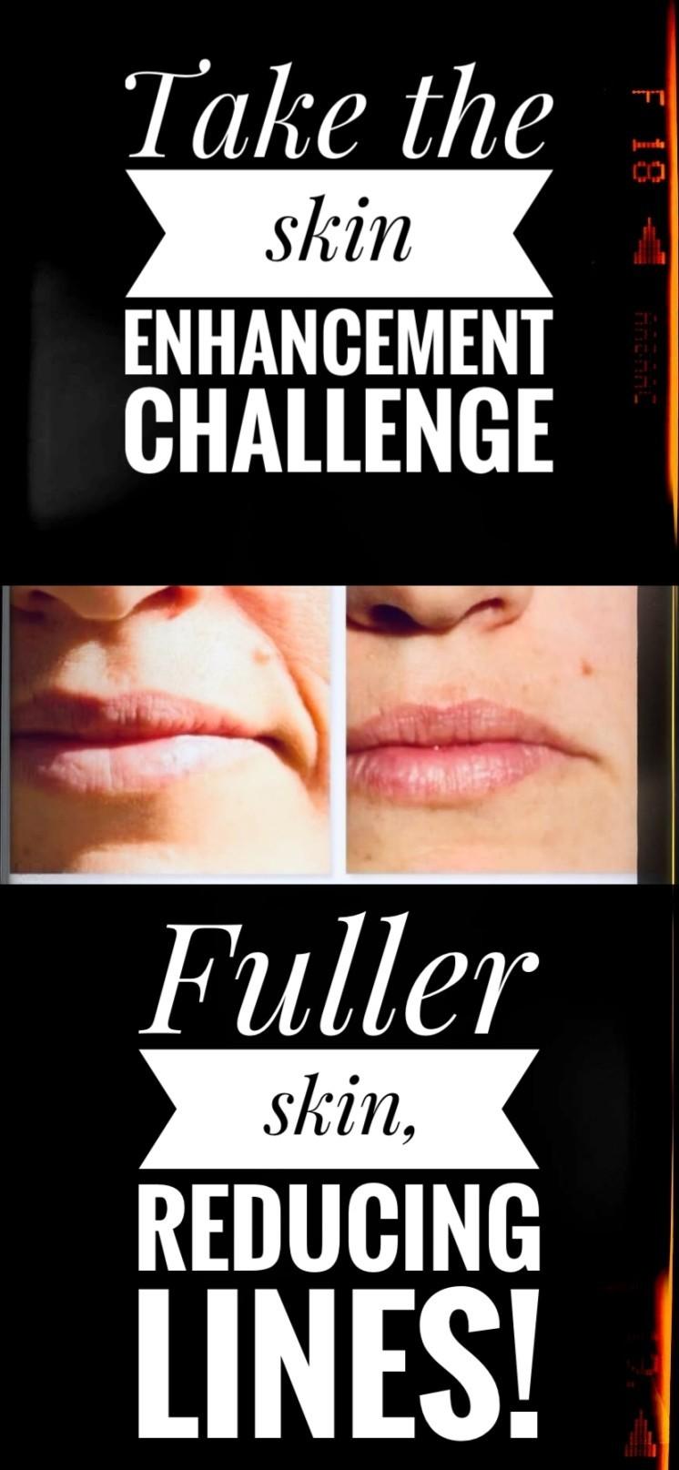 Skin enhancement challenge