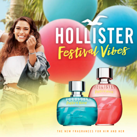 50% OFF - Hollister Festival Vibes for Him/Her + FREE Gift!