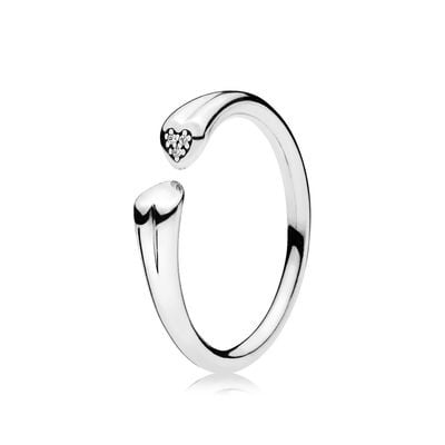 Valentines Day Gift Ideas - New Two Hearts Ring £45.00!