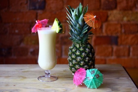 Happy Hour until 10pm - House Cocktails £4.50 each, no excuse not to indulge in a Pina Colada!