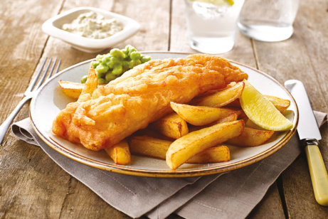 FISH FRIDAY - Atlantic Cod & Chips ONLY £7!