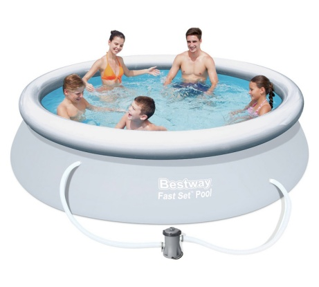 Bestway Quick Up 10ft Pool Set and Cover - ONLY £59.99!