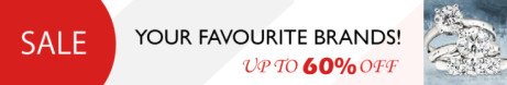 SALE - Up to 60% off Watches, Jewellery, Leather!