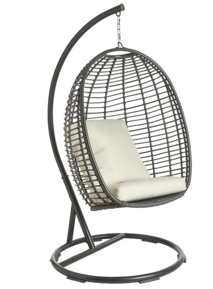 SAVE £65 on this Wilko Garden Hanging Egg Chair!