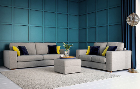 £999 for 2 Sofas and a Footstool - SAVE £400!