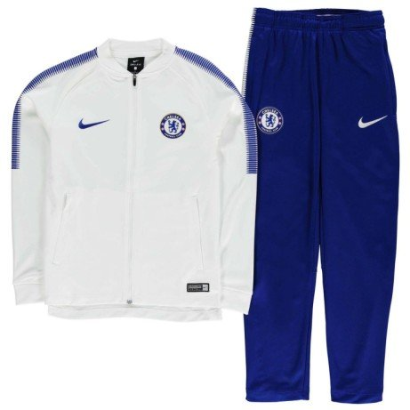 Save £20 on this 2017-2018 Chelsea Nike Dry Tracksuit (White) - Kids