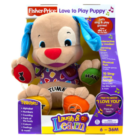 SAVE 25% on Fisher Price Love to Play Puppy!