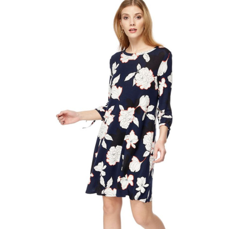 SAVE 50% OFF The Collection - Navy floral print jersey 'Bette' mini dress!