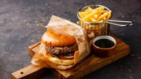 Enjoy one of our Burgers today from just £7.25!