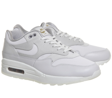 £35 OFF - Nike Air Max 1 Trainers in Vast Grey & Atmosphere Grey!