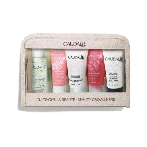 Shop our TRAVEL KIT Caudalie must-haves: £13.00!