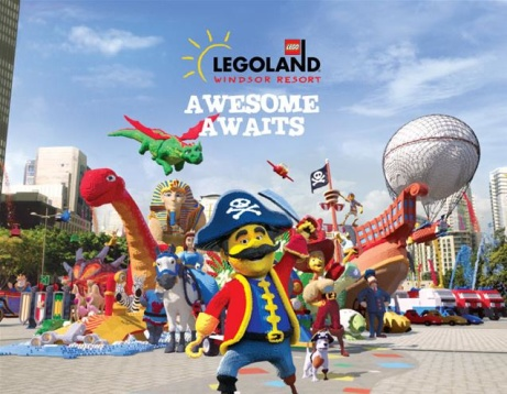 SAVE OVER 45% & Visit LEGOLAND® Windsor Resort for ONLY £25!