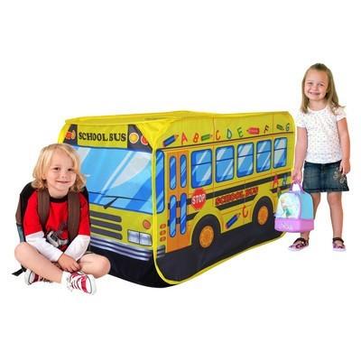 Charles Bentley Children's School Bus Pop Up Play Tent - £9.99 was £14.99