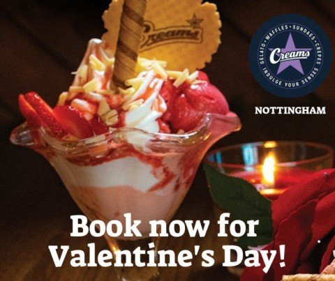 Book a booth with us to treat your Valentine, dessert is the way to a wo/man's heart!