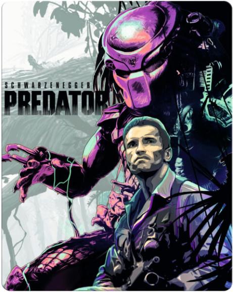 SAVE 25% on  Predator 4K Ultra HD - Zavvi Exclusive Limited Edition Steelbook Blu-ray PRE-ORDER!