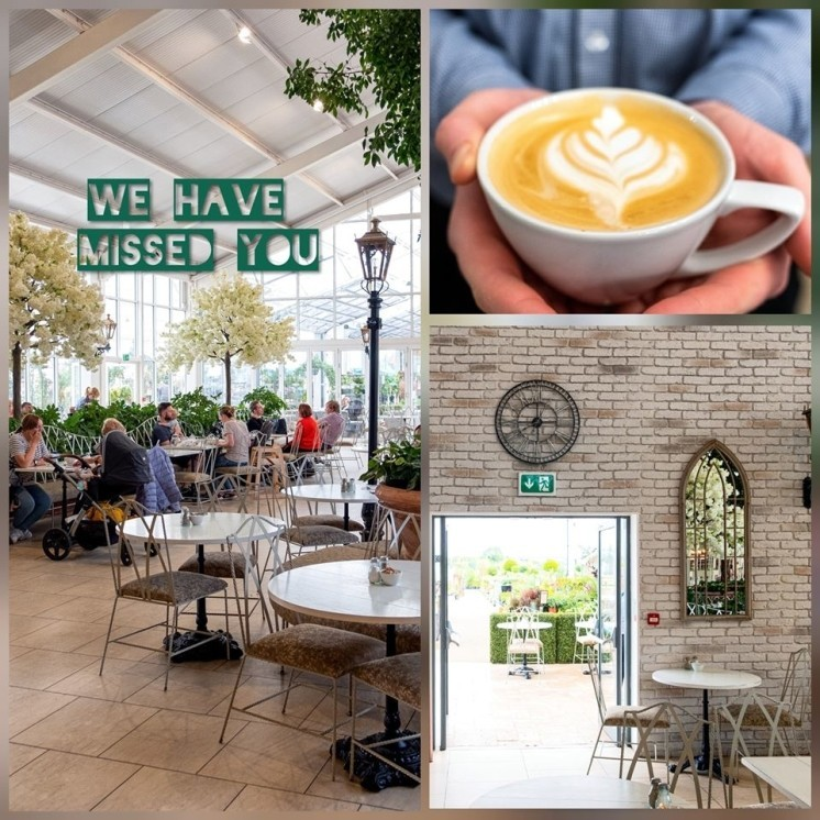 From the 4th you can safely enjoy our relaxing and beautiful Cafe Garden & Home once again!