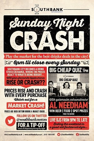 Join us tonight for our Big Cheap Quiz - From 7pm!