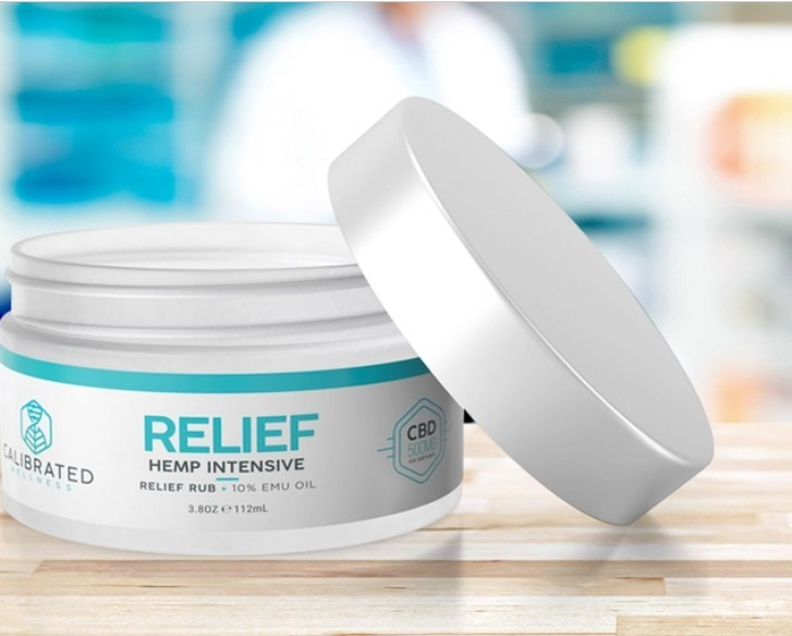 C B D **** Intensive Relief Rub With 10% EMU Oil