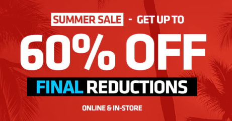 The Footasylum Summer SALE is NOW LIVE!