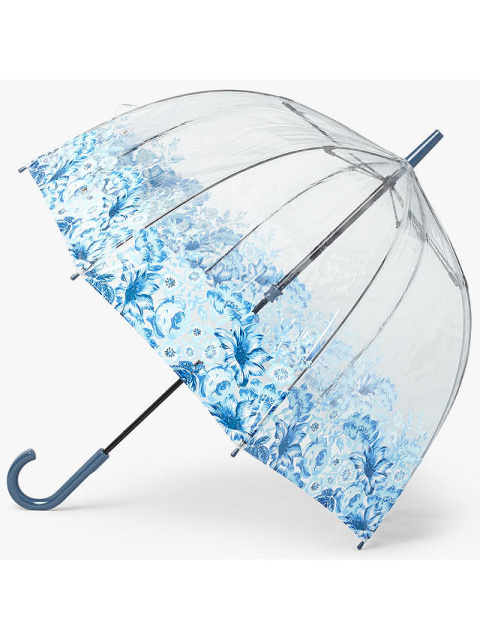Fulton Birdcage Archive Umbrella, Blue - £23.00!