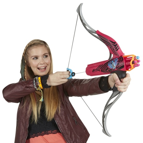 SAVE 60% on Nerf Rebelle Strongheart Bow Blaster - Pink!