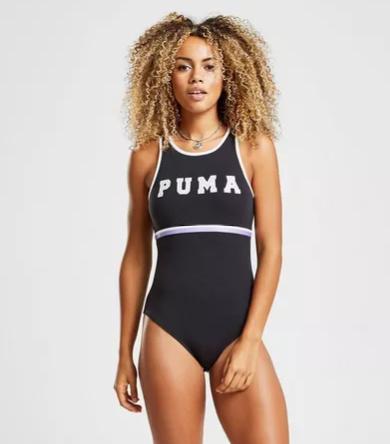 1/3 OFF - PUMA Stripe High Neck BodySuit!
