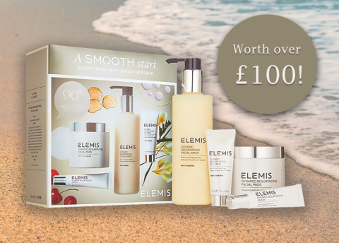 WIN this ELEMIS Dynamic Resurfacing Smooth Start Collection Worth £116.28!