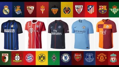 Buy 100% Official Football Shirts + FREE Worldwide Delivery!