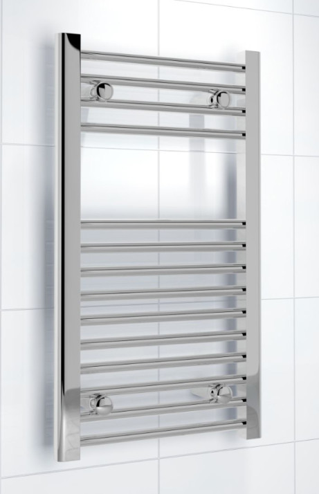 KUDOX SILVER HEATED TOWEL RAIL FOR ONLY £20!