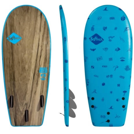 Softech Rocket Launch 4ft2 Soft Surfboard Blue only £149.95
