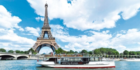 OVER 35% OFF this 1-hour River Seine Cruise in Paris!