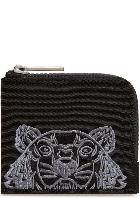 SAVE £39.00 - Kenzo Zip Around Square Wallet in Black!