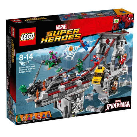 20% OFF - LEGO Marvel Super Heroes Web Warriors Bridge!