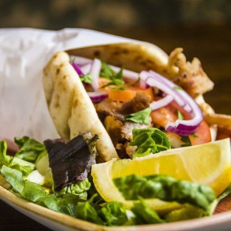 Just £4.95 for one or our delicious wraps - Join us this lunch time!