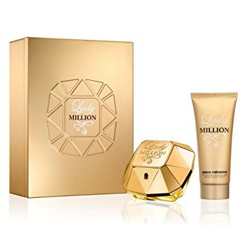 Valentines Day Gifts - Paco Rabanne Lady Million Eau de Parfum 50ml Gift Set £59.00!