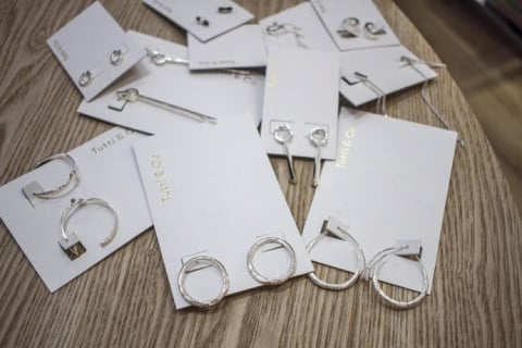 Here's a selection of earrings from just £19.00 - Perfect for stocking fillers!