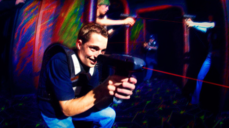 Standard Games of Lazer Tag with us are just £5.00 for 20 minutes!