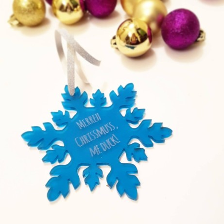 Personalised Christmas Decorations - JUST £5.00!