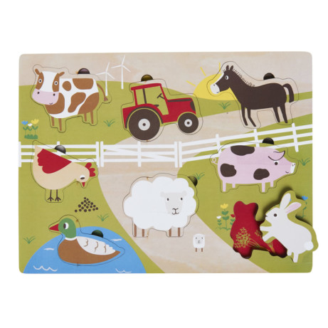 Easter Wooden Farm Puzzle £3.50!