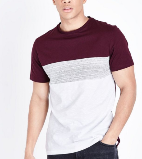 Get this Colour Block T-Shirt for ONLY £6!