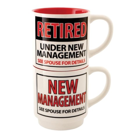 SAVE 50% on this Retired Stacking Mug Set!